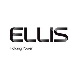 Black text logo for Ellis holding power