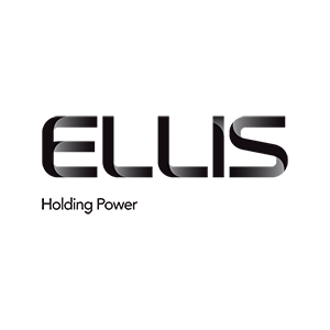 Black text logo for Ellis holding power
