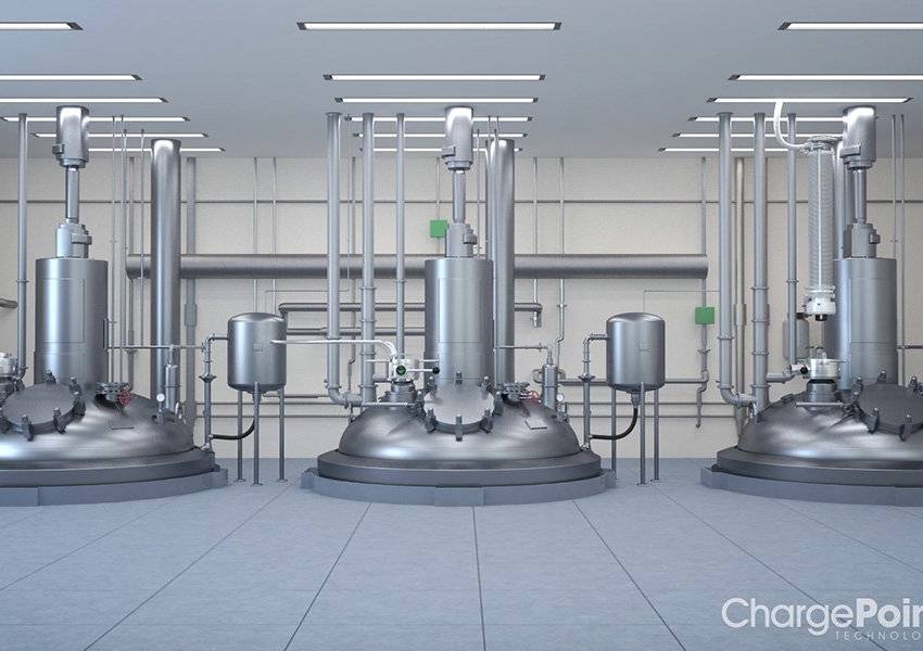Pharmaceutical Containment Lab from 3D product animation