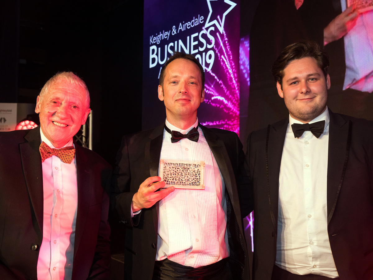 animation company west yorkshire wins business award