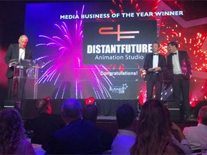 Image of our win of Media Business of the Year